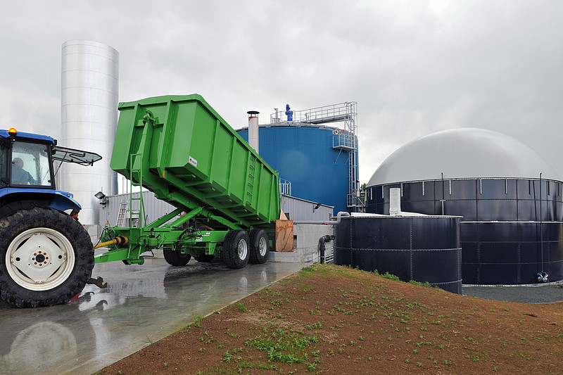 Wet fermentation of wastes and agricultural residues: GICON Advanced